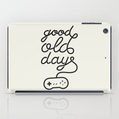 Good Old Days - Videogame iPad Case