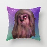 M83: Werewolf Throw Pillow