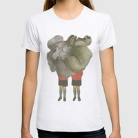 MEUS GEMINUS Womens Fitted Tee Ash Grey SMALL