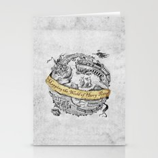 Harry's Map Stationery Cards