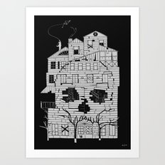 Monsterhouse Art Print