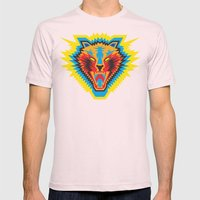 Roar Mens Fitted Tee Light Pink SMALL