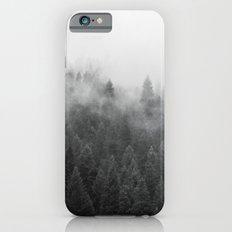 Black and White Mist iPhone 6 Slim Case