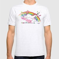 Unicorn: Destroyer Of Po… Mens Fitted Tee Ash Grey SMALL