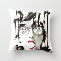 the Ghost Throw Pillow