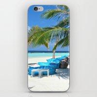 Maldivian Lounge iPhone & iPod Skin