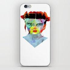girl_190712 iPhone & iPod Skin