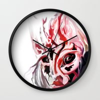 Masked Wall Clock