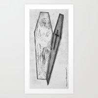 Vampyr Art Print