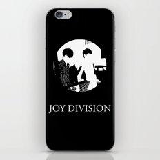 JOY DIVISION - Music | Goth | Indie | Wave | Retro | Vintage | Vector | Black and White | Vinyl  iPhone & iPod Skin