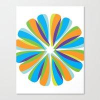 Color Fusion Canvas Print