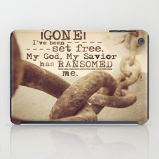 Chains are gone iPad Case
