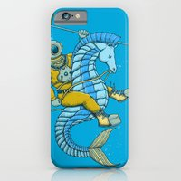 iPhone & iPod Case featuring Deep Sea Hunting by Alvaro Arteaga