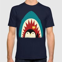 Hi! Mens Fitted Tee Navy SMALL