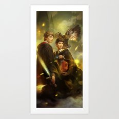 BBC Merlin: Emrys Ascend… Art Print