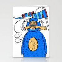 We're all creeps. Stationery Cards