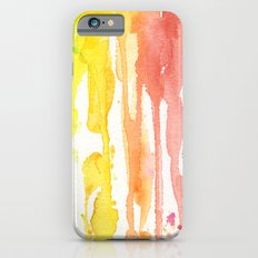 Rainbow Watercolor iPhone 6 Slim Case
