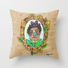 Mr. Trulala Throw Pillow