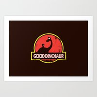 Good Dinosaur Art Print