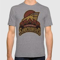Tatooine SandCrawlers Mens Fitted Tee Athletic Grey SMALL