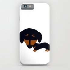 Dachshund (black and tan) iPhone 6s Slim Case
