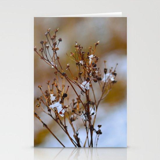 Frosty Days Stationery Card