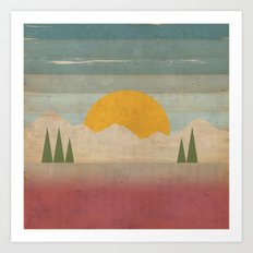 Day in the Forest Art Print