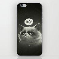 Grumpy I. iPhone & iPod Skin