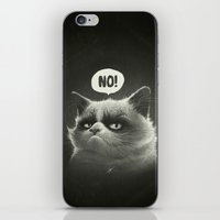 No! iPhone & iPod Skin