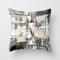 Fleeting About The Teem … Throw Pillow