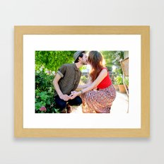 understand that this is a dream. Framed Art Print