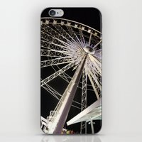 Wheeling Around iPhone & iPod Skin