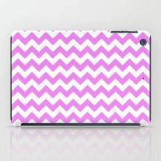 Chevron (Violet/White) iPad Case