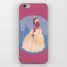 The Princess of the Frogs iPhone & iPod Skin