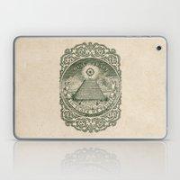 In Block We Trust (Green) Laptop & iPad Skin
