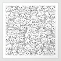 Cats Art Print