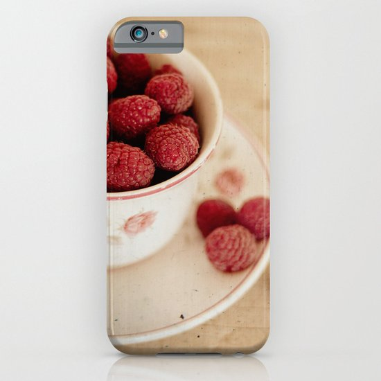 A Cup of Raspberries iPhone & iPod Case