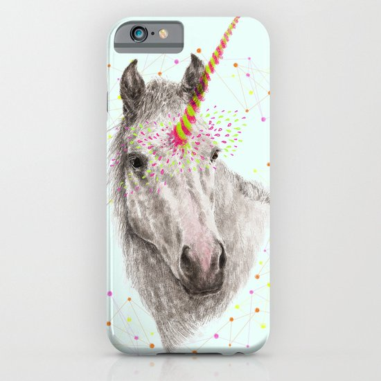 Unicorn V iPhone & iPod Case