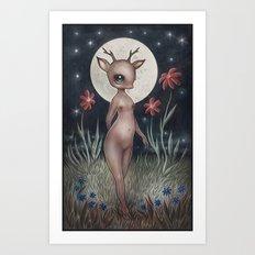 Belle Biche Art Print