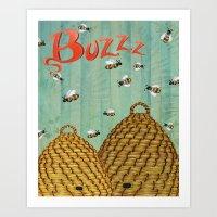 Buzzz Art Print