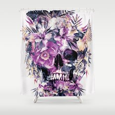 Momento Mori III Shower Curtain