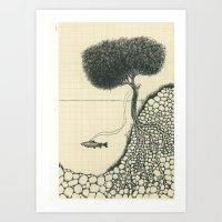 Artificial Tree N.18 Art Print