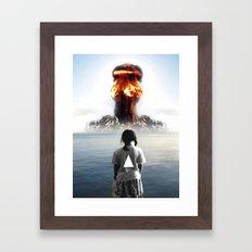 Nuke My Home Framed Art Print