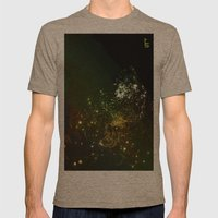 Mysterious World In The … Mens Fitted Tee Tri-Coffee SMALL