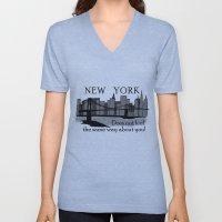 NYC Unisex V-Neck