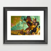 The Mighty Framed Art Print