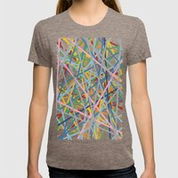 Kerplunk Extended Womens Fitted Tee Tri-Coffee SMALL