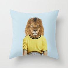 Mr. Blazing Throw Pillow