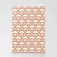 Popsicle Girls Stationery Cards