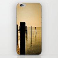 The Sunlit Dock iPhone & iPod Skin